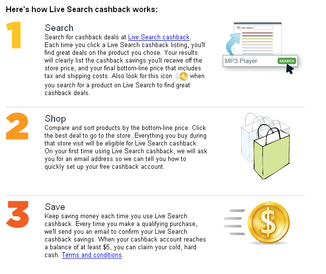 Live Search cashback - Live Search_1211380230633